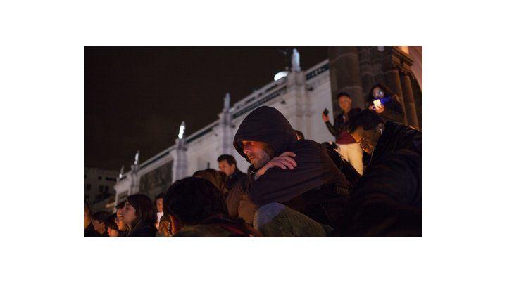 viglia. Los ecuatorianos se reunieron en Quito para expresar su dolor.
