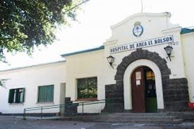 El hospital de El Bolsón.