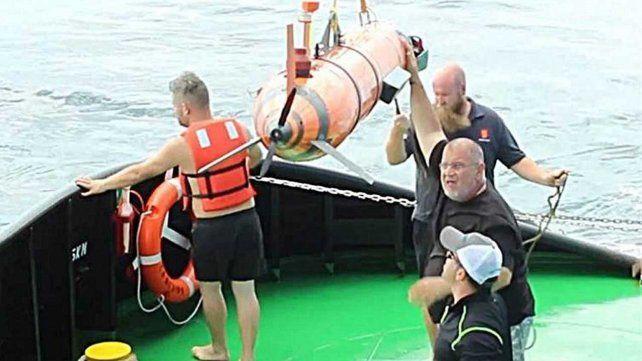 Un buscador de naufragios se postula para encontrar el ARA San Juan