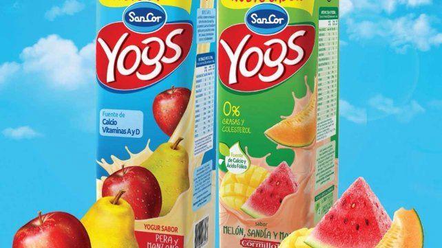 Retiran del mercado una decena de lotes de yogures SanCor