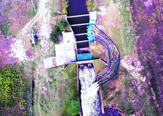 Mejoras. En la estación de bombeo de la laguna se realizarán obras que potenciarán y readecuarán el sistema.