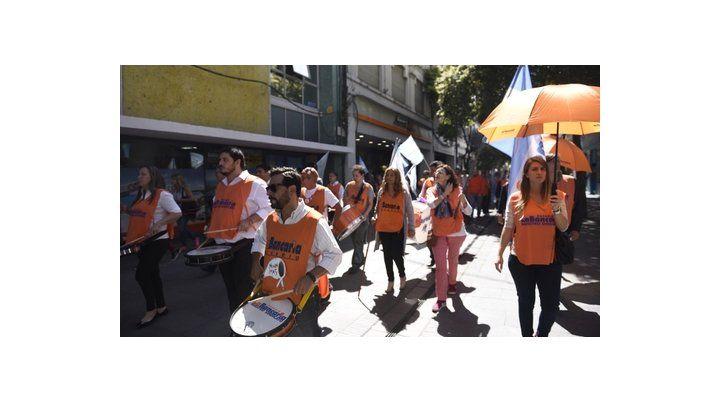 Paro. Los empleados bancarios volverán a movilizarse en Rosario.