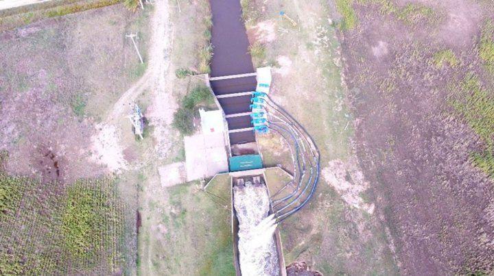 Mejoras. En la estación de bombeo de la laguna se realizarán obras que potenciarán el sistema.