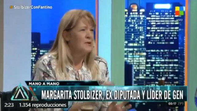 Stolbizer: Muchos que votaron a Macri están pidiendo un freno
