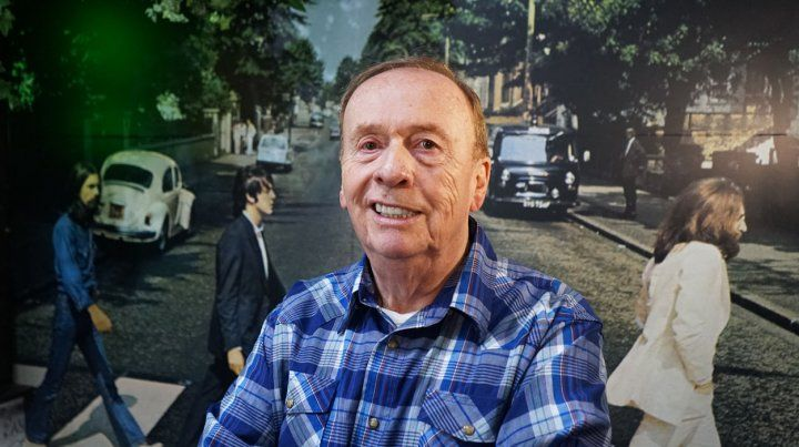 De visita. Emerick fue ingeniero de sonido de los discos revolucionarios de los Beatles.
