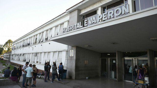 La víctima fue derivada al Hospital Eva Perón