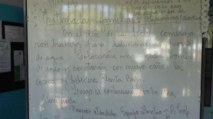 Arrancaron las obras reclamadas en la escuela República de México