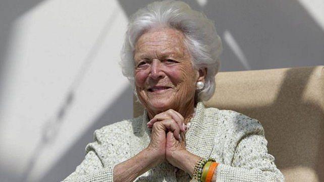 Murió la exprimera dama estadounidense Barbara Bush