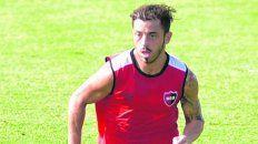 En carrera. Bernardello superó una lesión muscular y podría reaparecer.