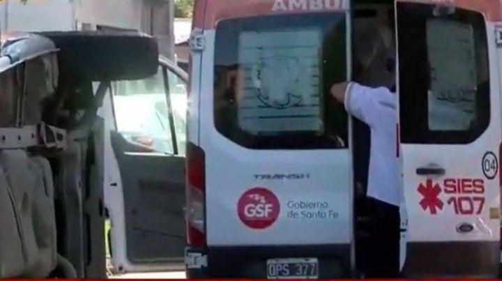Una ambulancia del Sies atendió al niño