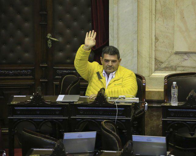 El apuntado. La oposición necesitaba de Olmedo para dar quórum.