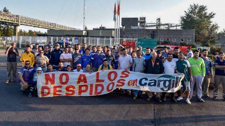 Los trabajadores de Cargilla