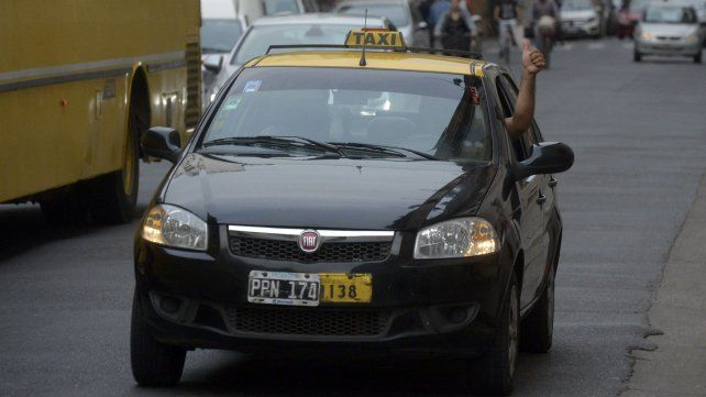 El asalto al taxista ocurrió en barrio Belgrano.