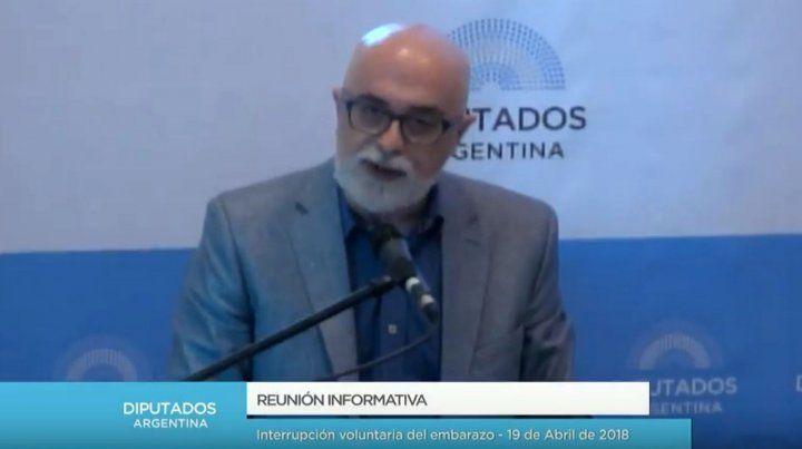 Daniel Teppaz: El aborto no es sólo es un problema de salud sino de justicia social