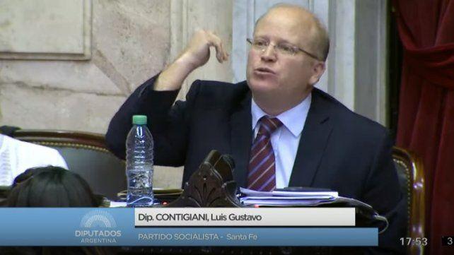 Contigiani dijo con los tarifazos el gobierno usará maquillaje, no irá a la cuestión de fondo