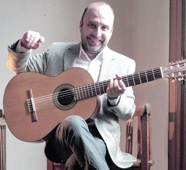 Casazza tocará junto a Ernesto Jodos