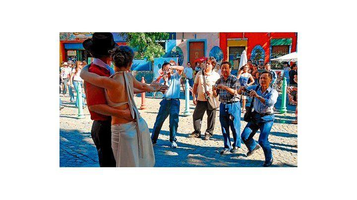 turistas chinos. La promoción de las bellezas argentinas apunta a millones de pontenciales viajeros.