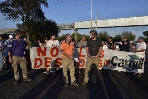 conflicto. Los aceiteros piden la reincorporación de 33 obreros.