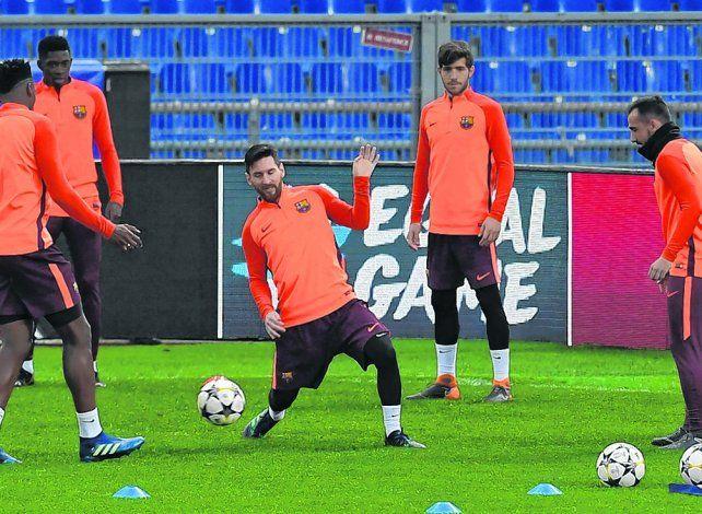 Antidoping para Messi y diez más en Barcelona