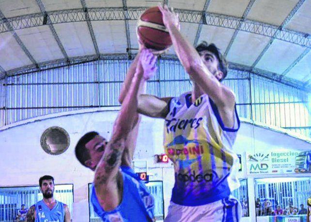 Escena repetida. El equipo de Villa Gobernador Gálvez enfrentó a los cañadenses en la fase regular del campeonato.