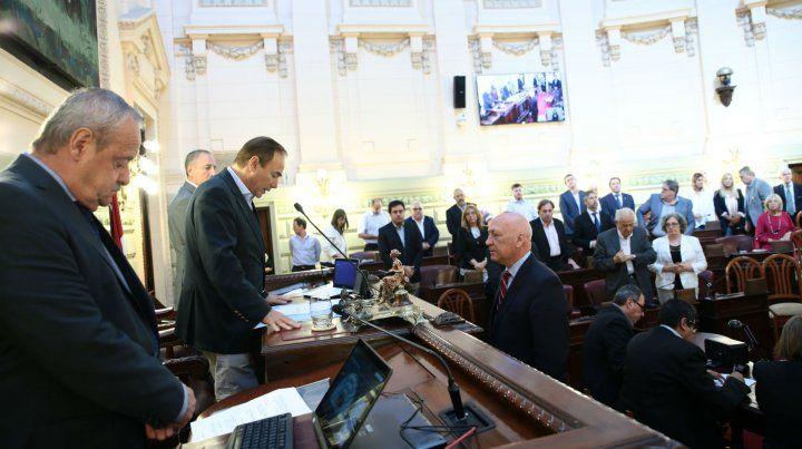 Nuevo período. El exgobernador continuará al frente de la Cámara de Diputados.