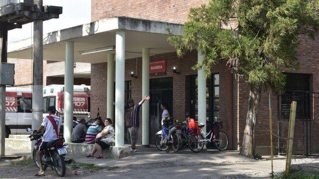 Una de las víctima quedó internada en el Hospital Gamen.