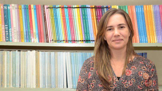 La profesora Paloma Moreno