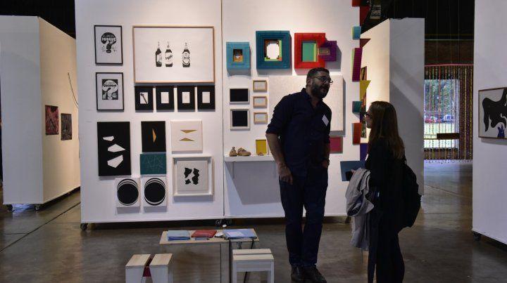 La MicroFeria de Arte logró ventas por más de 500 mil pesos