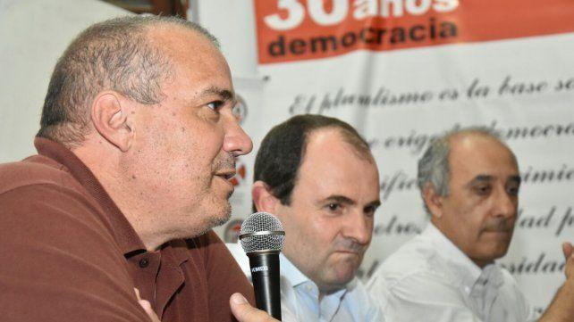 En Rosario. Galdeano encabezó un encuentro de la UCR santafesina.