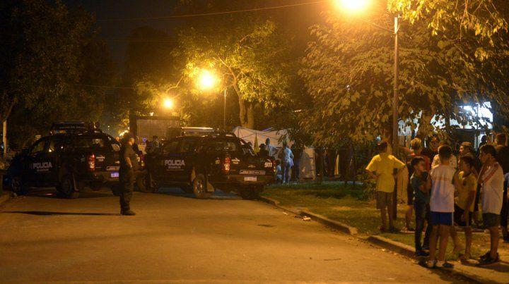 El lunes a la tarde se perpetró un triple homicidio en el barrio Martín Fierro de Granadero Baigorria.