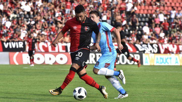 Leonel Ferroni. El lateral izquierdo marcará a Pavón.