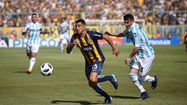 Central cayó con Racing y cedió terreno en su lucha por clasificar a la Sudamericana