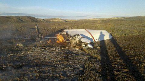 península de valdés. Murieron las dos mujeres que eran pasajeras.