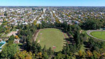 Remodelación integral. El parque municipal General Belgrano será refuncionalizado a nuevo.