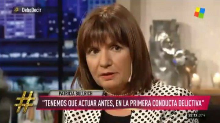 Patricia Bullrich: Por la despenalización, Holanda es un narcoestado