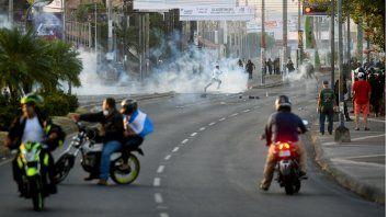 Nicaragua reprimió las jornadas de protesta que dejó al menos tres muertos