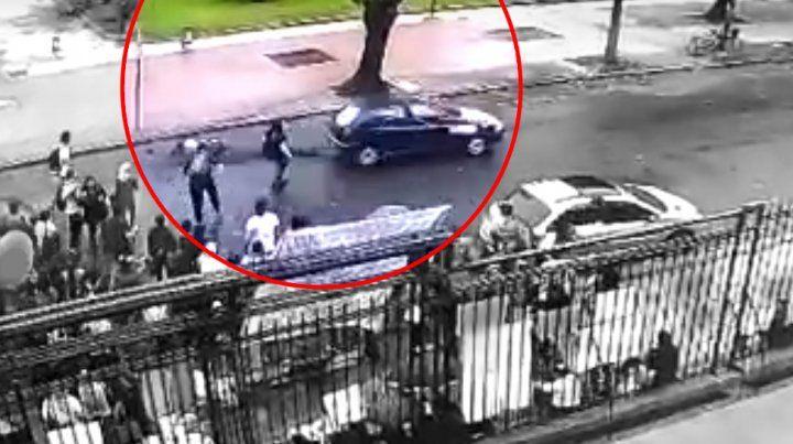 Las imágenes. La mujer fue atropellada por un conductor que se entregó esta tarde.