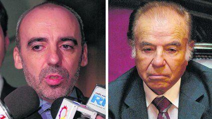 Acusados. Tanto el ex juez Galeano como Menem fueron señalados por el abandono de la llamada pista siria.