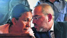 en el banquillo. La líder de la organización Túpac Amaru fue detenida el 16 de enero de 2016.