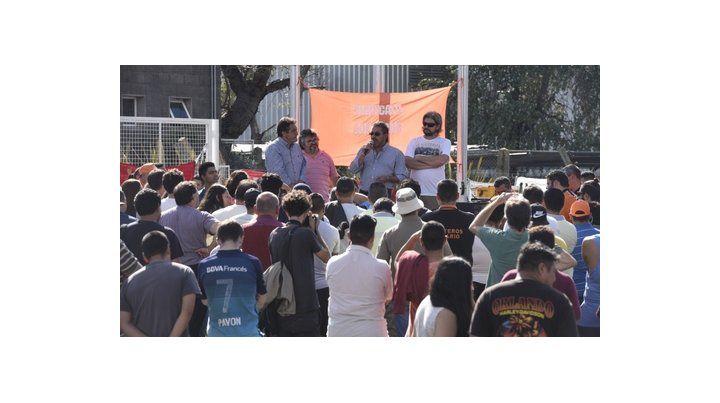 Lucha. Obreros de Cargill reclaman la reincorporación de despedidos.
