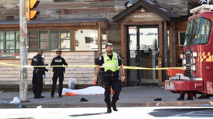 Atropello múltiple en las calles de Toronto