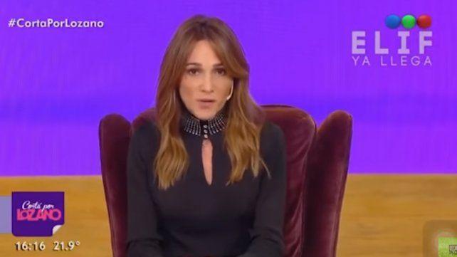 Verónica Lozano reveló que Juan Cruz Sanz pidió licencia en la TV