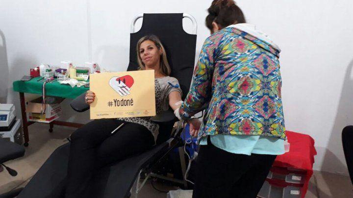 Sigue la campaña de donación de sangre en La Capital