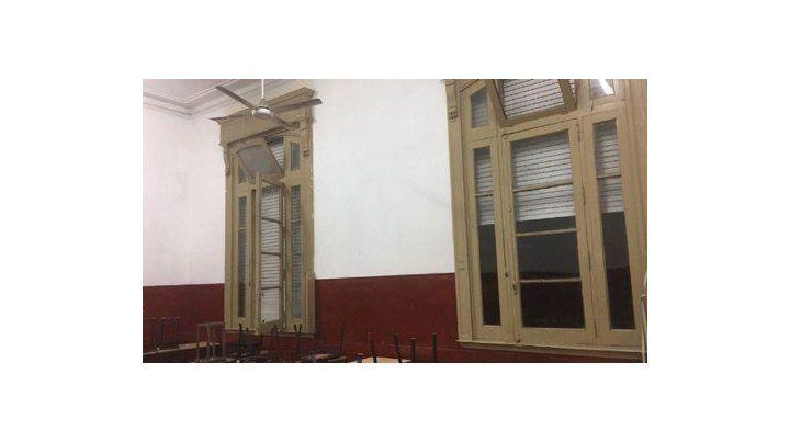 Vista del aula 2-5.