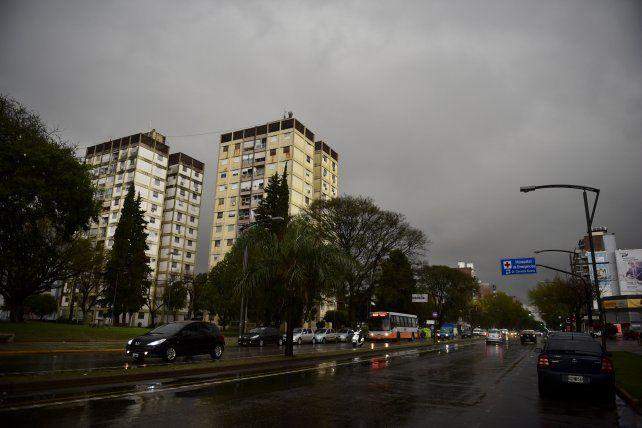 Las lluvias y tormentas podrían llegar entre esta noche y la madrugada del miércoles. (Foto de archivo)