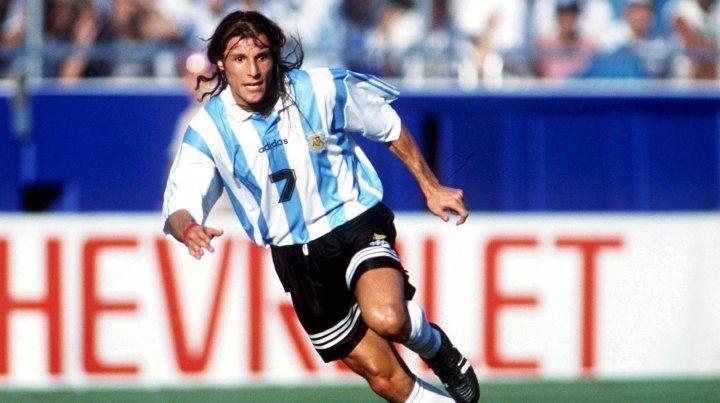 Caniggia fue contundente a la hora de comparar a Messi con Maradona