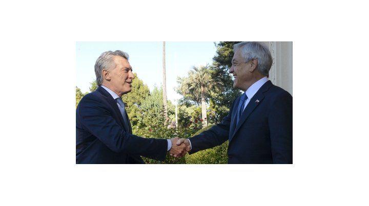 objetivo. Macri y Piñera quieren afianzar el vínculo entre ambos países.