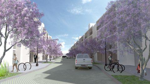 programa. Los nuevos bloques de viviendas estarán ubicados en predios que pertenecen a la UNR.