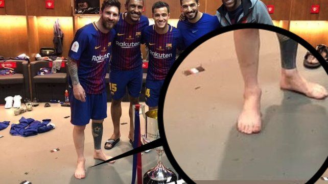 El rumor sobre la cantidad de dedos que tiene Messi en el pie derecho