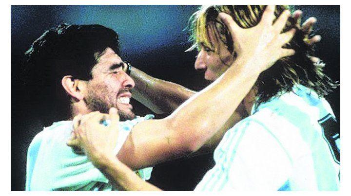 Podrán igualarlo pero nadie podrá superar a Diego, dijo Caniggia